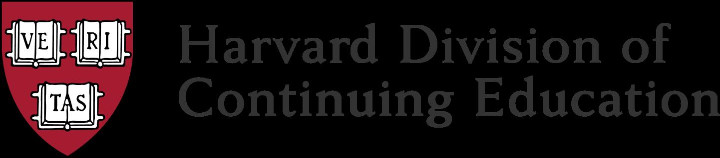 Harvard Division of Continuing Education Logo